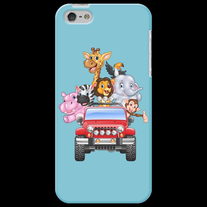 Чехол для iPhone 5 Printio Сафари стоимость