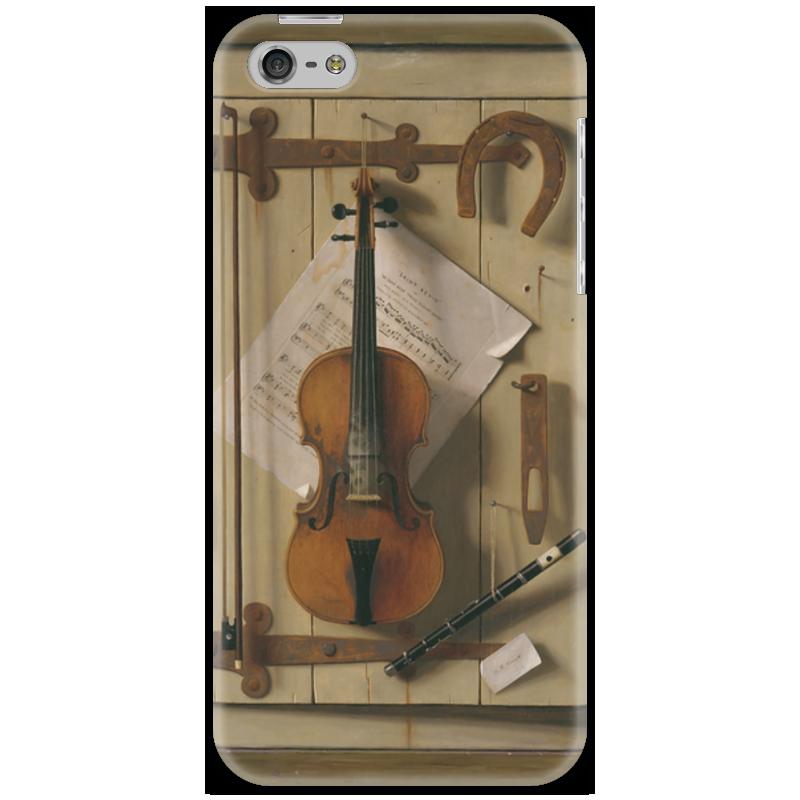 Чехол для iPhone 5 Printio Натюрморт со скрипкой (уильям харнетт) чехол для samsung galaxy s5 printio натюрморт со скрипкой уильям харнетт