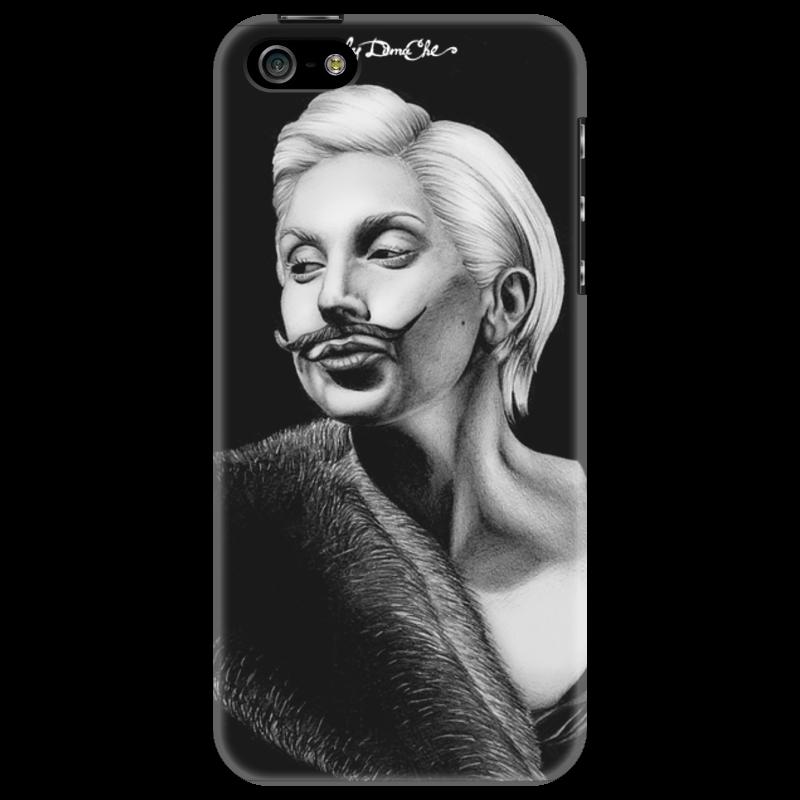 Чехол для iPhone 5 Printio Lady gaga чехол