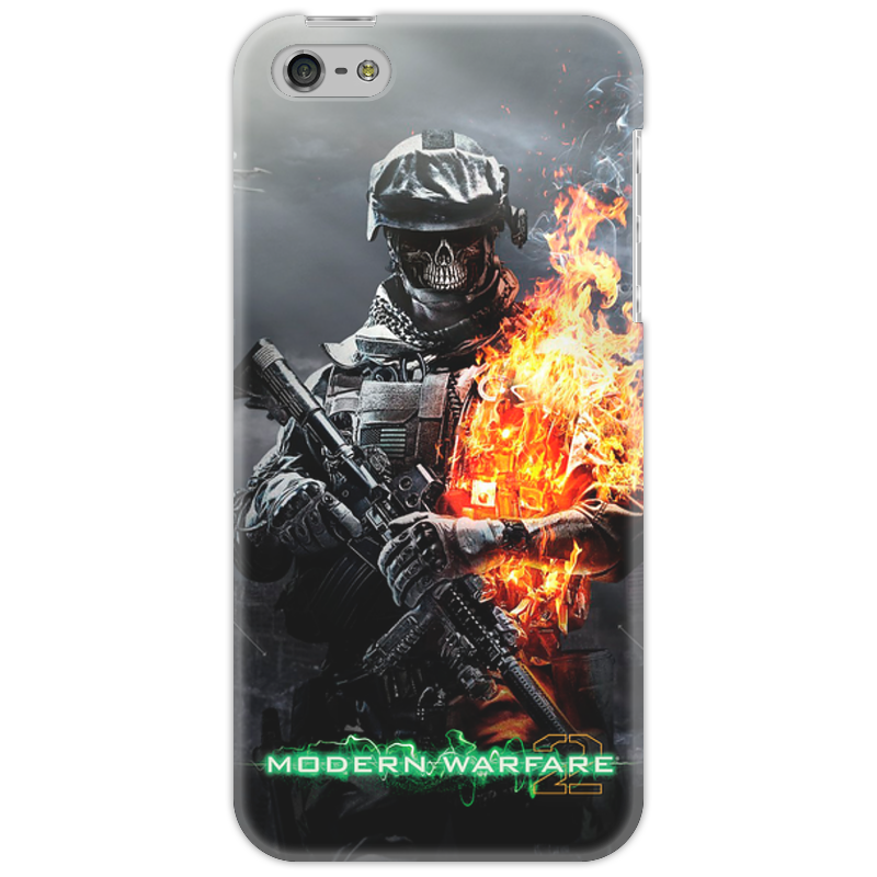 Чехол для iPhone 5 Printio Call of duty modern wafare 2 zombie майка классическая printio череп call of duty