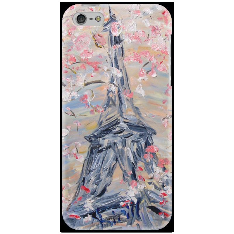 Чехол для iPhone 5 Printio Париж