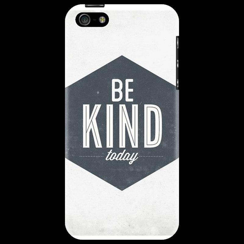 Чехол для iPhone 5 Printio Be kind everyday