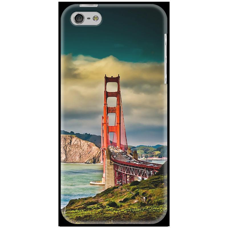 Чехол для iPhone 5 Printio Сан-франциско