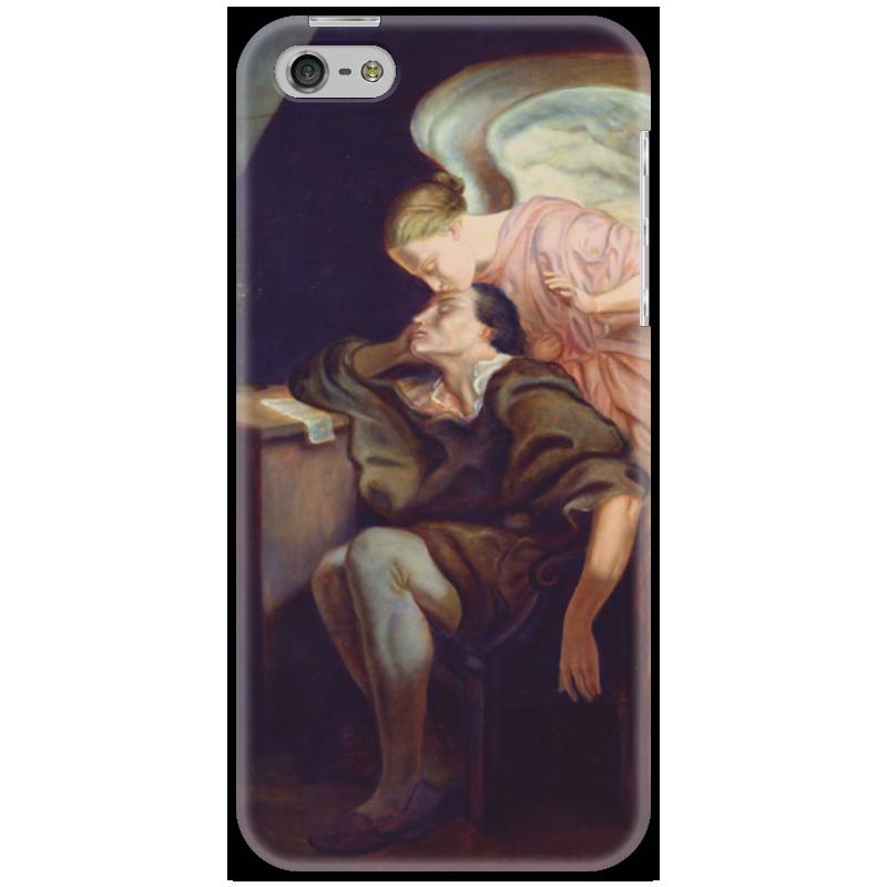 Чехол для iPhone 5 Printio Поцелуй музы музы вдохновившие мир прозрачный супер