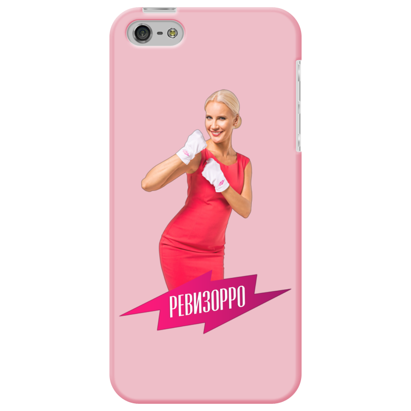 Чехол для iPhone 5 Printio Ревизорро чехол для муха iq446 кожа iq446 роскошь полиуретан открытая вверх и пуховик черный белый розовый цвет