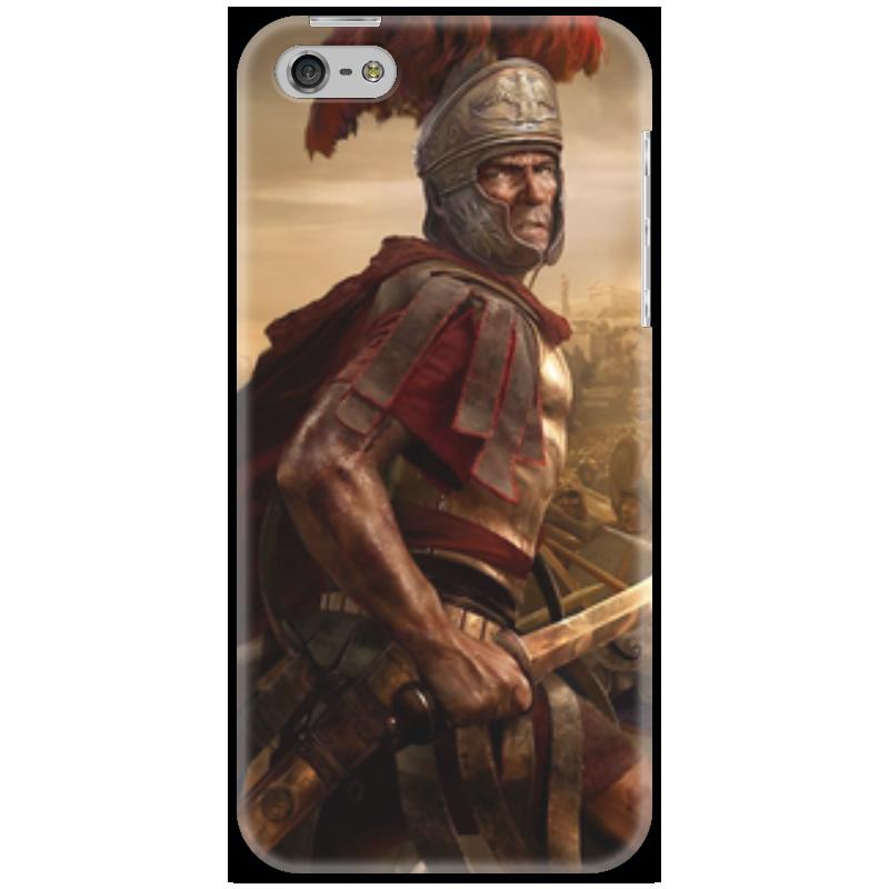 Чехол для iPhone 5 Printio Римская империя. завоевания. империя