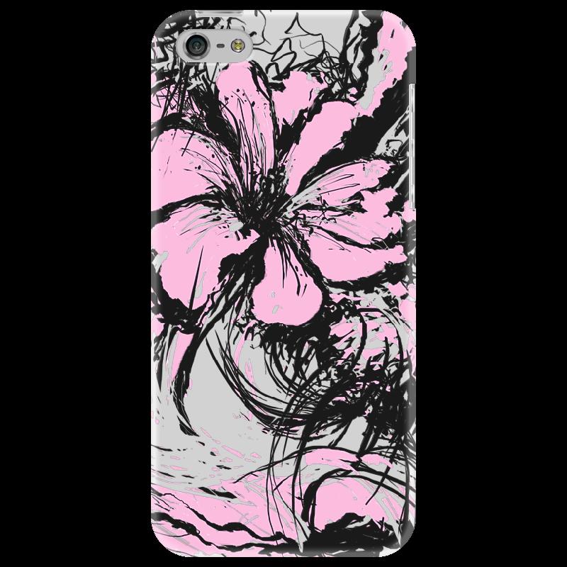 Чехол для iPhone 5 Printio Flowers чехол для карточек аnimals in flowers лев дк2017 123