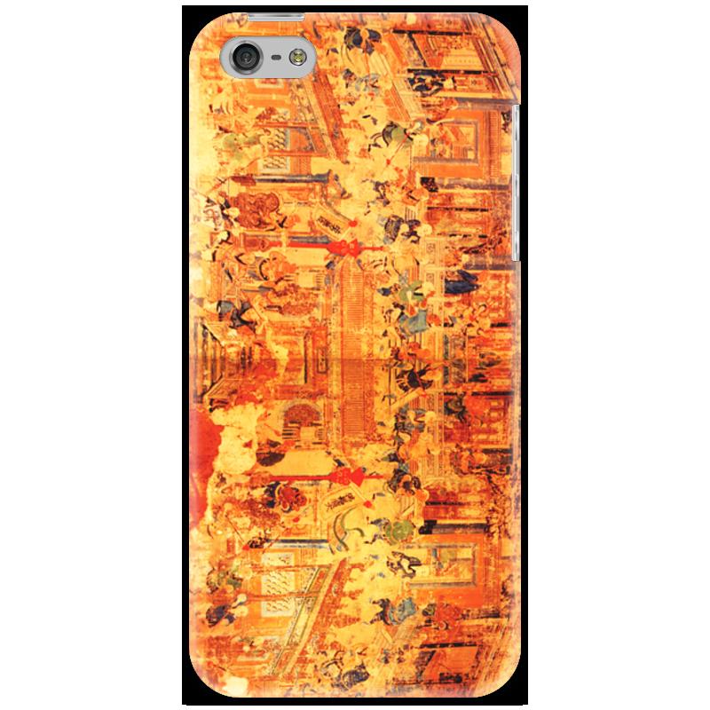Чехол для iPhone 5 Printio Шаолинь оптом из китая копии iphone