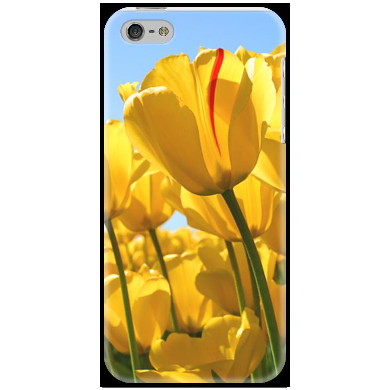 Чехол для iPhone 5 Printio Желтые тюльпаны харьков сортовые тюльпаны 2014