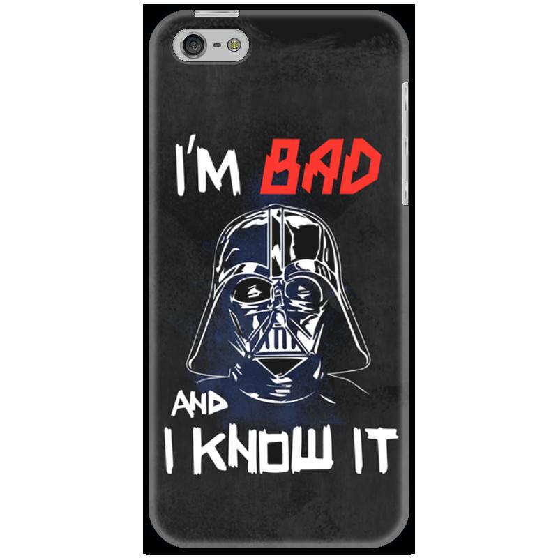 Чехол для iPhone 5 Printio I'm bad and i know it (starwars) футболка с полной запечаткой женская printio i m bad and i know it starwars