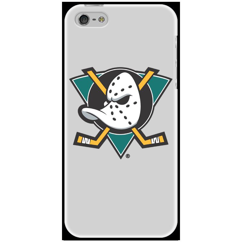 Чехол для iPhone 5 Printio Anaheim mighty ducks чехол