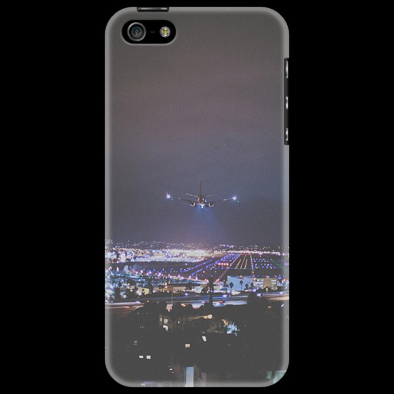 Чехол для iPhone 5 Printio Чехол landing lights стоимость