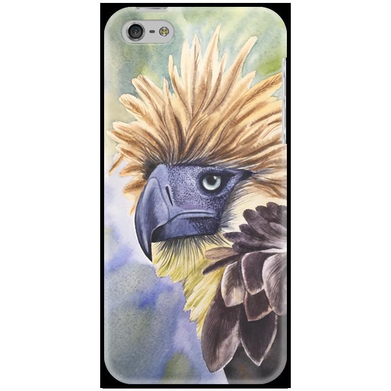 Чехол для iPhone 5 Printio Филиппинский орел чехол для iphone 7 глянцевый printio филиппинский орел