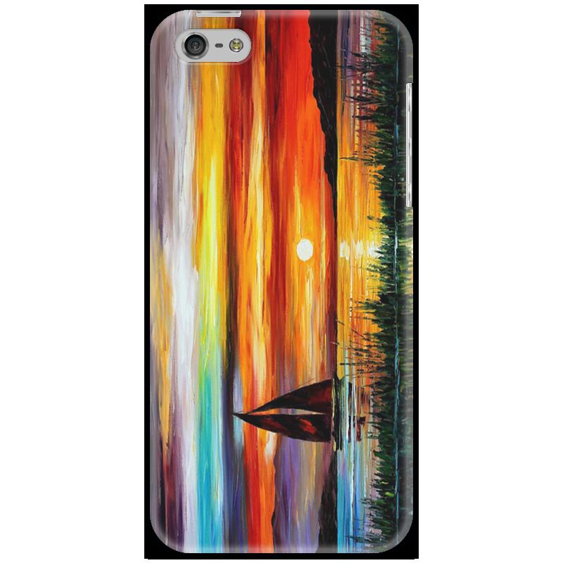 Чехол для iPhone 5 Printio Лодка лодка