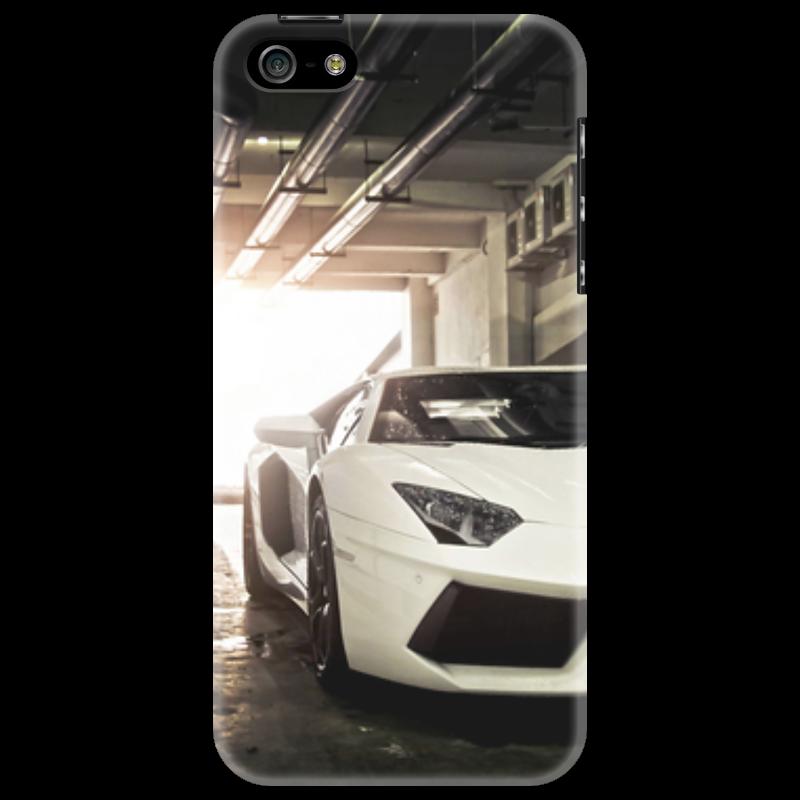 Чехол для iPhone 5 Printio Lamborghini aventador пазл 73 5 x 48 8 1000 элементов printio lamborghini aventador