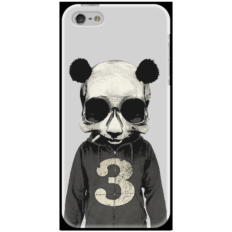 Чехол для iPhone 5 Printio Panda № 3 чехол для iphone 5 printio brain salt