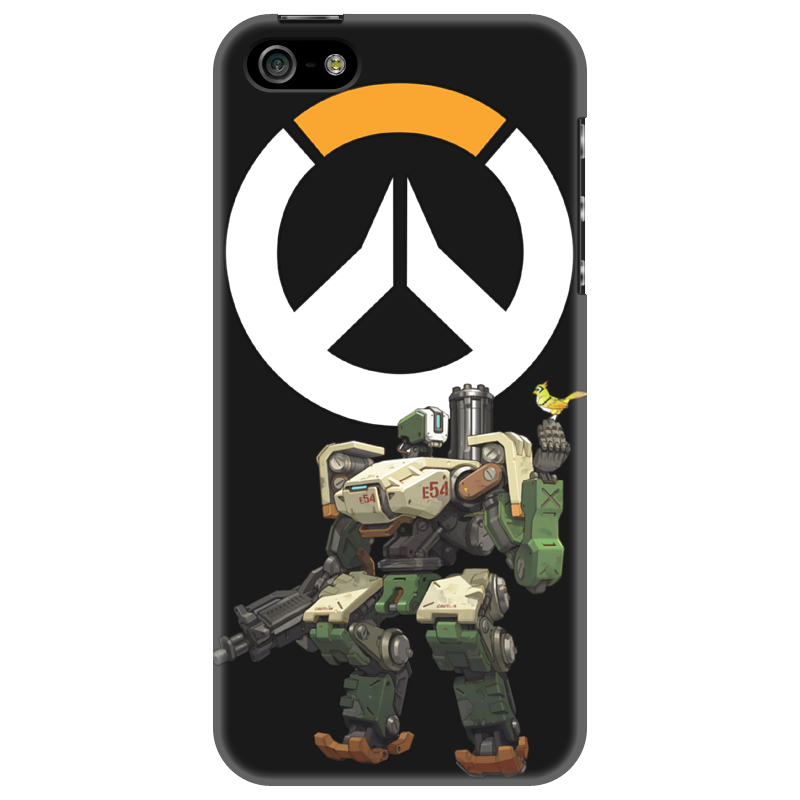 Чехол для iPhone 5 Printio Overwatch bastion / овервотч бастион скатерть квадратная printio overwatch bastion овервотч бастион