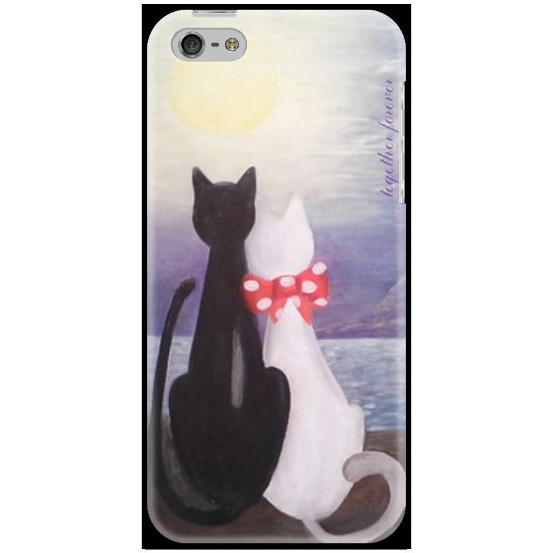 Чехол для iPhone 5 Printio Романтичный рисунок для влюбленных