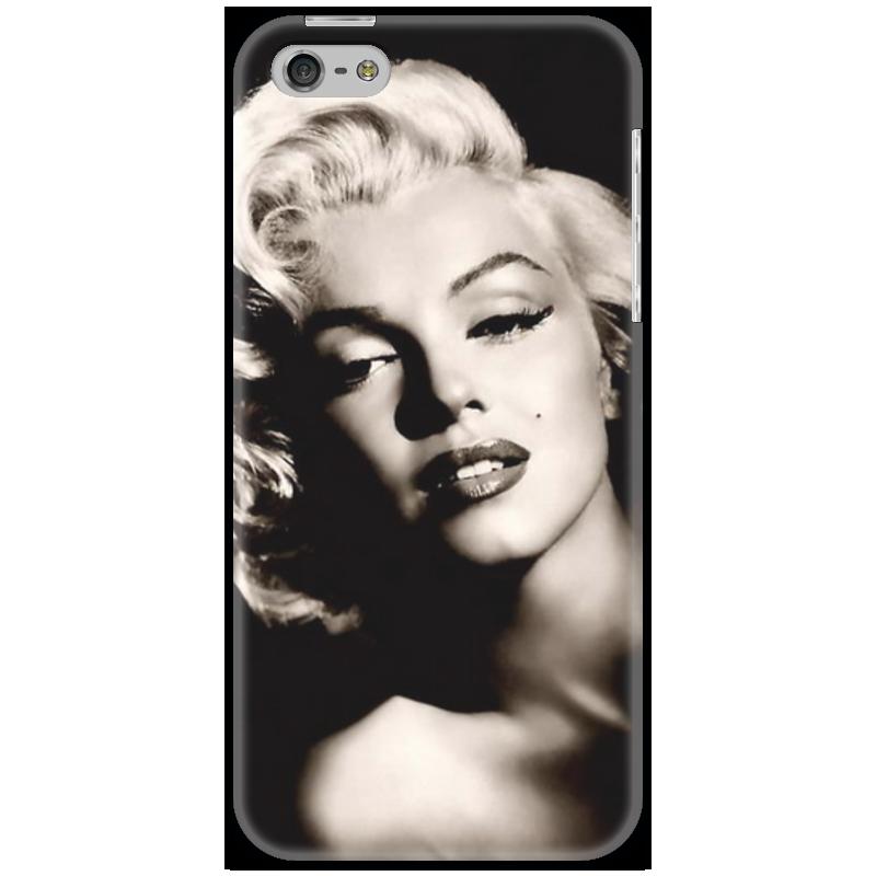 Чехол для iPhone 5 Printio Мерлин монро