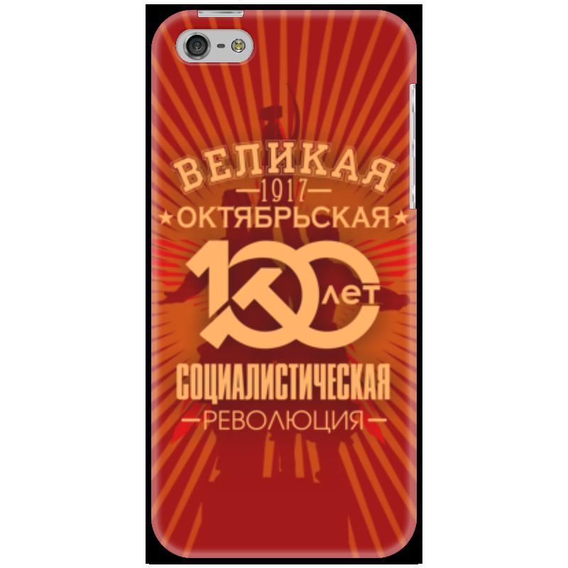 Чехол для iPhone 5 Printio Октябрьская революция коврик для мышки printio октябрьская революция