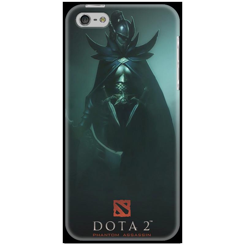 Чехол для iPhone 5 Printio Cover phantom assassin стоимость