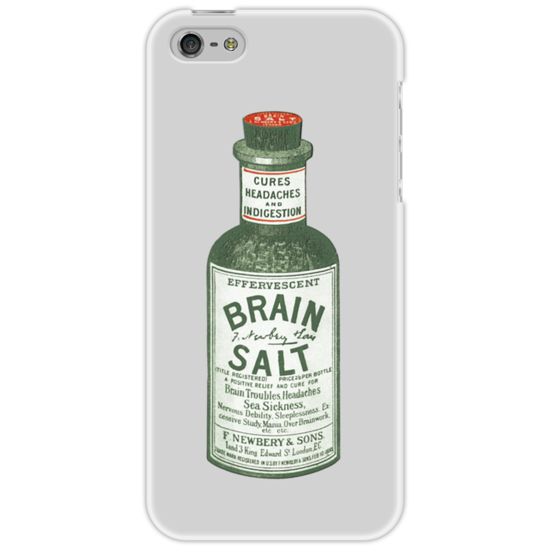 Чехол для iPhone 5 Printio Brain salt pen type salt meter ct 3086 0 5 0%
