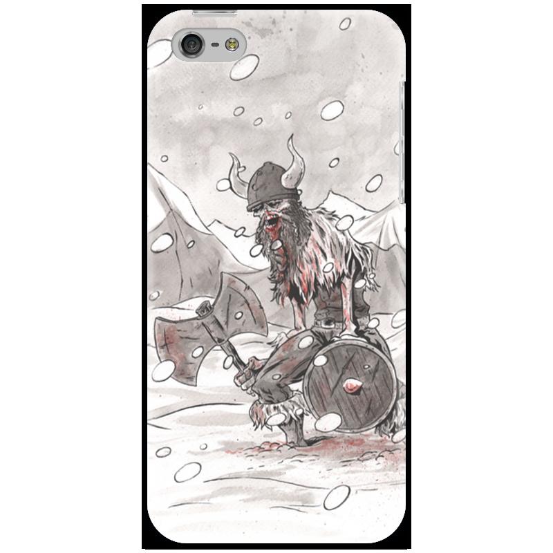 Чехол для iPhone 5 Printio Викинг. после боя.