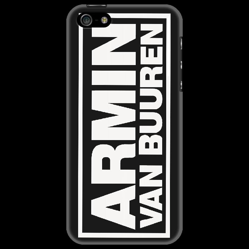 Чехол для iPhone 5 Printio Armin van buuren logo white билеты armin van buuren спб