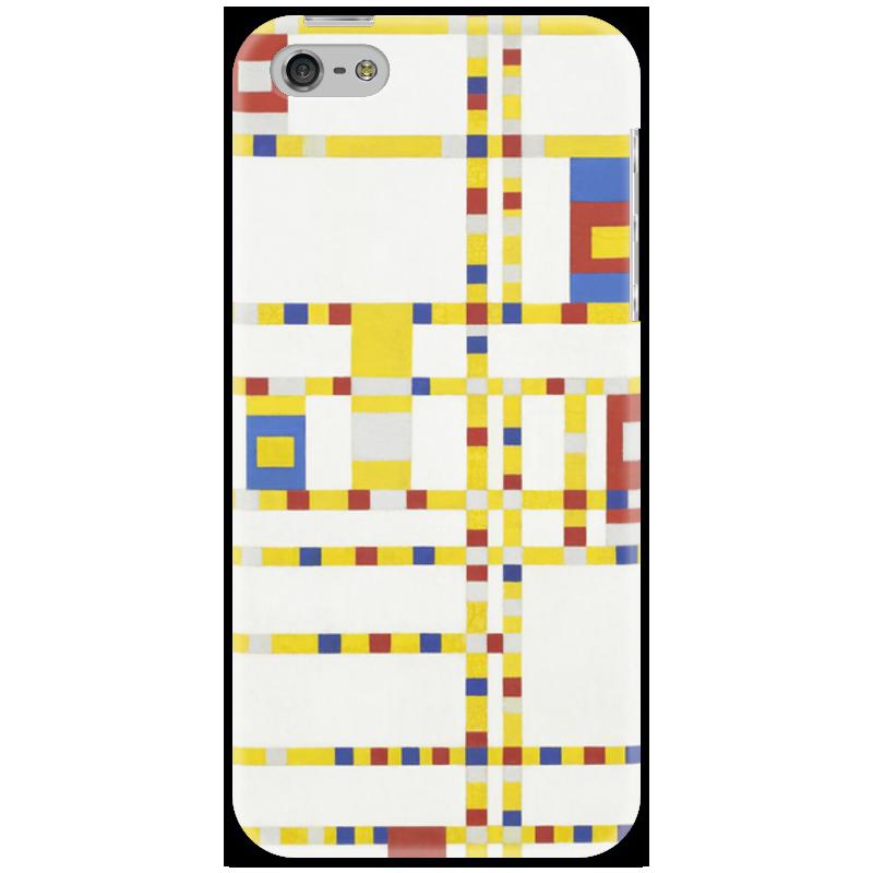 Чехол для iPhone 5 Printio Бродвей буги-вуги (питер мондриан) чехол для карточек пит мондриан дк2017 110