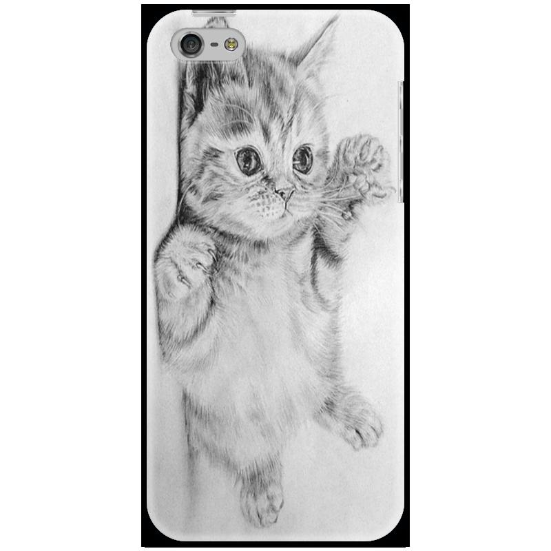 Чехол для iPhone 5 Printio Cat стоимость