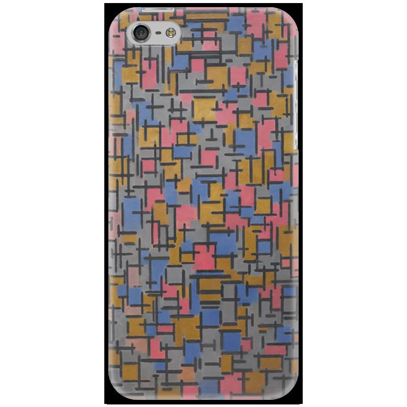 Чехол для iPhone 5 Printio Композиция (питер мондриан) чехол для карточек пит мондриан дк2017 110