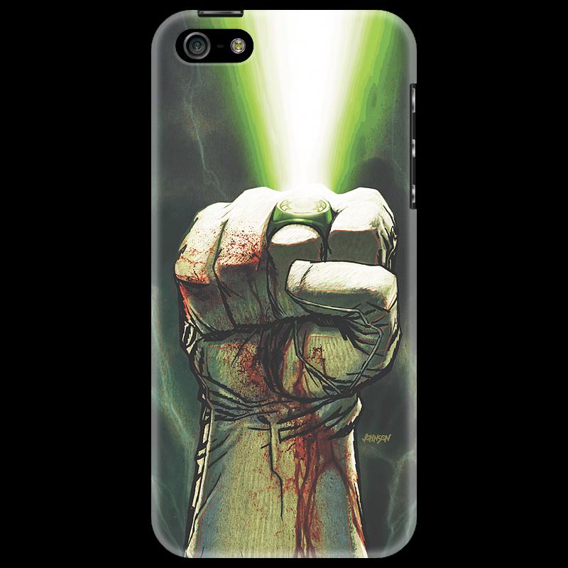 Чехол для iPhone 5 Printio Зеленый фонарь налобный фонарь sunree l40 ipx8 4led
