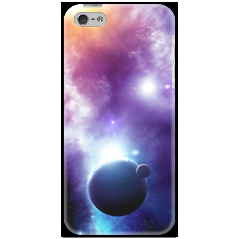 Чехол для iPhone 5 Printio Universe увлекательный космос для самых маленьких