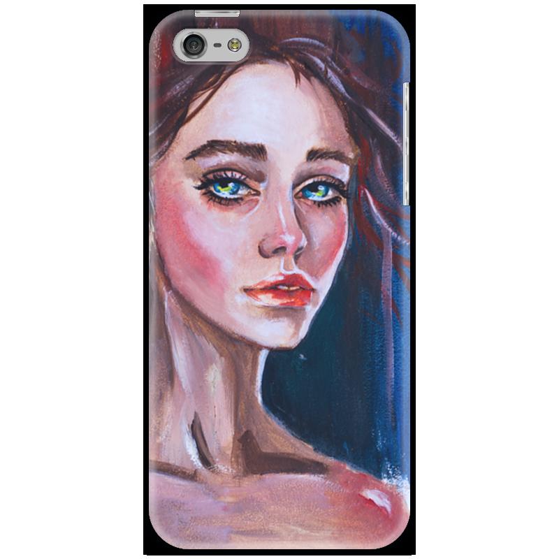Чехол для iPhone 5 Printio Русская красавица