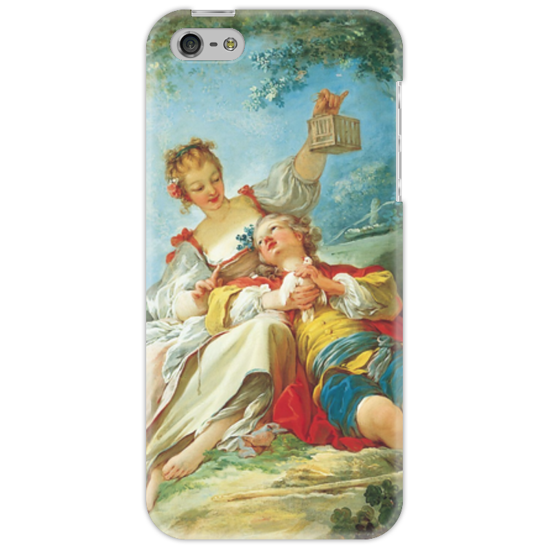 Чехол для iPhone 5 Printio Счастливые любовники сыновья и любовники