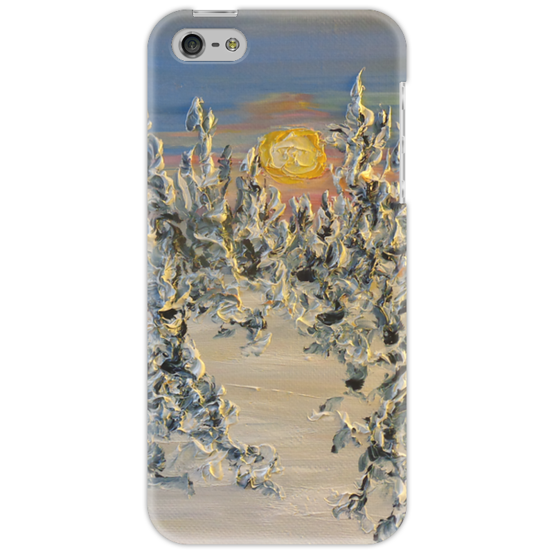 Чехол для iPhone 5 Printio Мороз iphone китайский недорого г москва