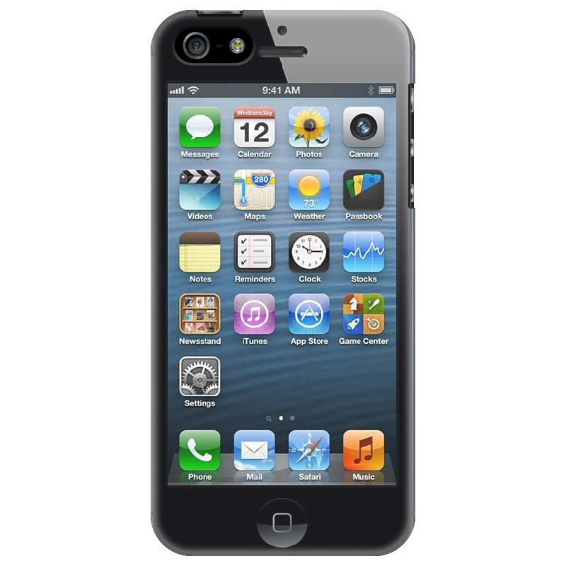 Чехол для iPhone 5 Printio Iphone чехол для iphone 5 printio dendy