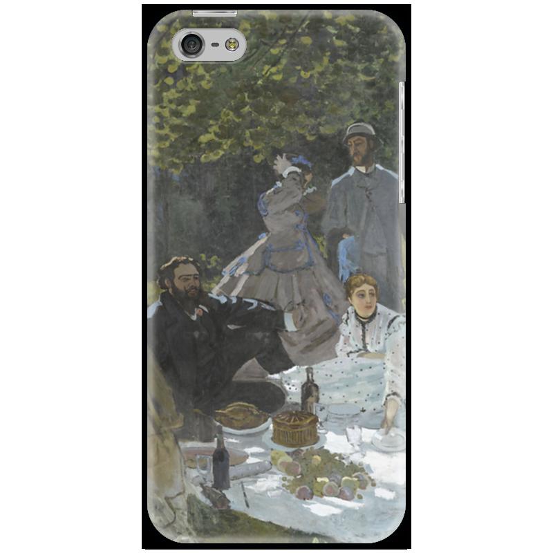 Чехол для iPhone 5 Printio Завтрак на траве (клод моне) 1866