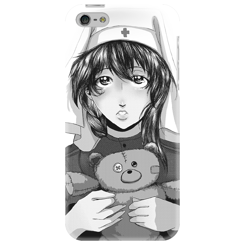 Чехол для iPhone 5 Printio Чехол для iphone девушка чехол для iphone 5 printio minecraft чехол