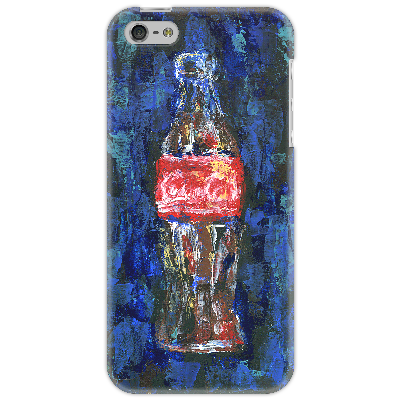 Чехол для iPhone 5 Printio Coca-cola colibri стол coca cola