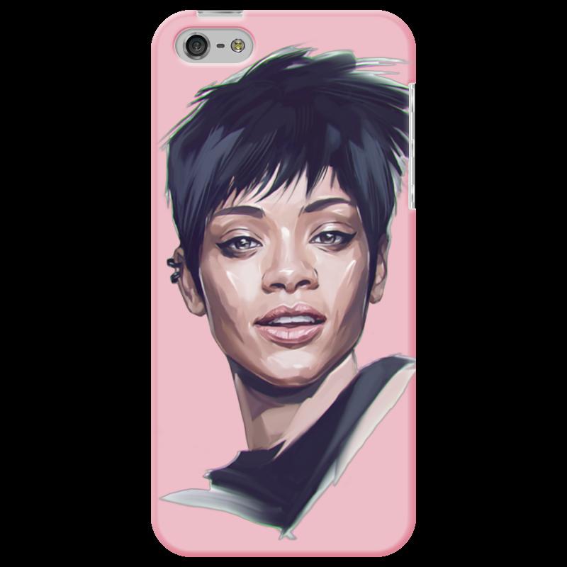 Чехол для iPhone 5 Printio Rihanna чехол для муха iq446 кожа iq446 роскошь полиуретан открытая вверх и пуховик черный белый розовый цвет