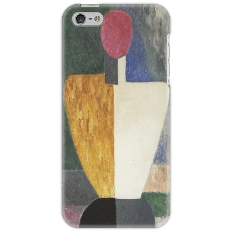 Чехол для iPhone 5 Printio Торс (фигура с розовым лицом) (малевич) чехол для samsung galaxy s5 printio торс фигура с розовым лицом малевич