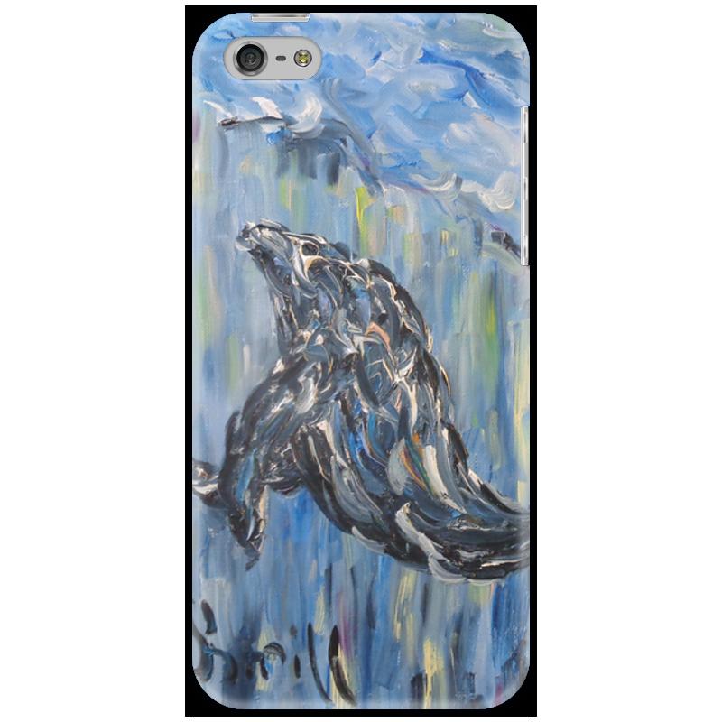 Чехол для iPhone 5 Printio Океан торт printio северный ледовитый океан фридрих