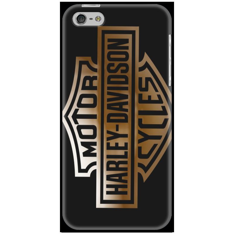 Чехол для iPhone 5 Printio Harley-davidson
