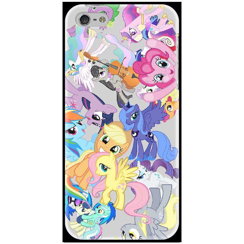Чехол для iPhone 5 Printio My little pony