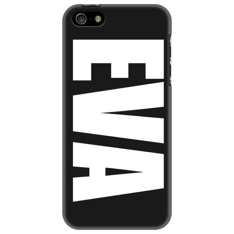 Чехол для iPhone 5 Printio С именем ева чехол для iphone 5 printio с именем анна