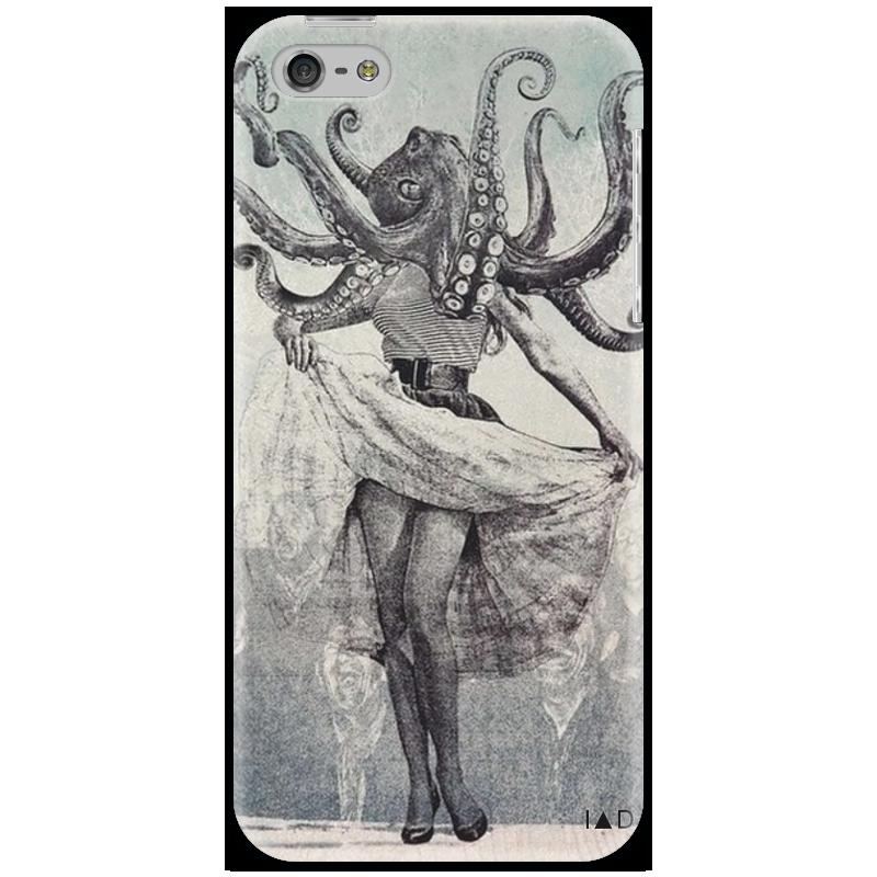 Чехол для iPhone 5 Printio Octopus and monroe какой iphone лучше для россии