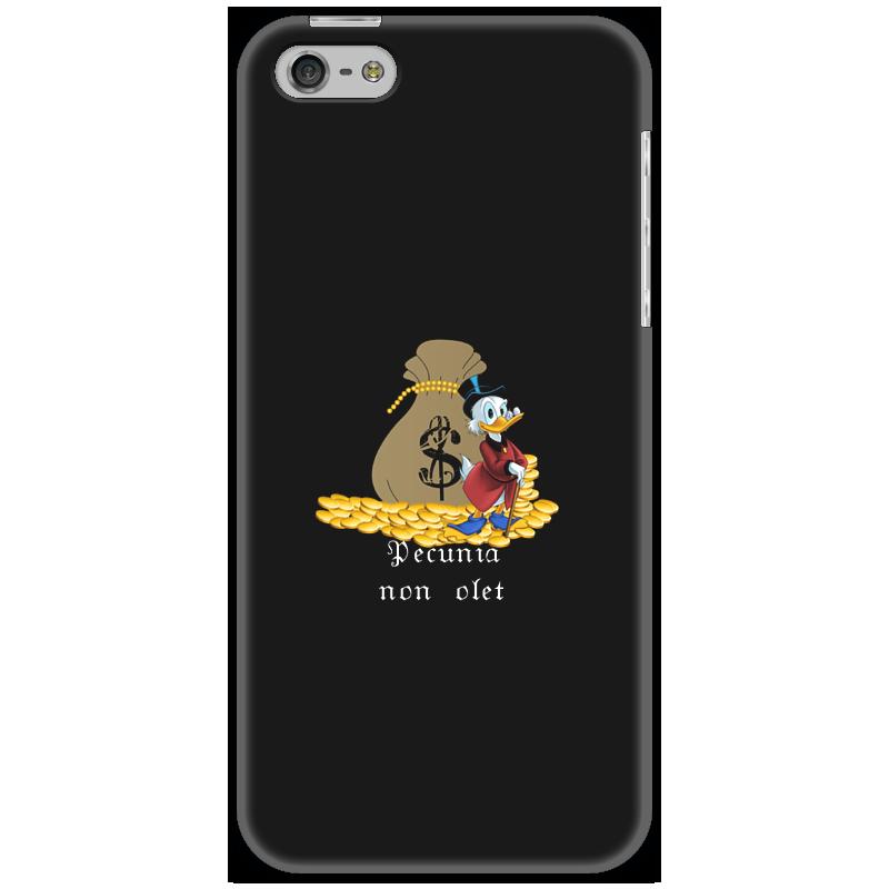 Чехол для iPhone 5 Printio Деньги не пахнут. деньги. скрудж макдак. игровые фигурки bullyland скрудж макдак 7 5 см