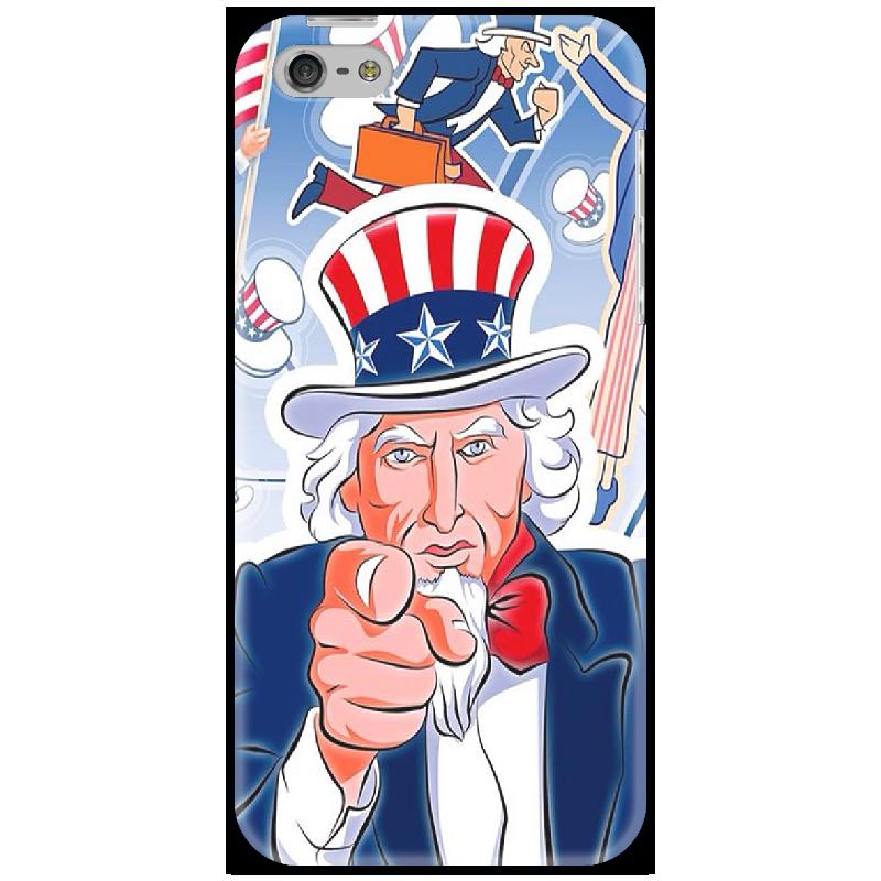 Чехол для iPhone 5 Printio Американский дед iphone 5 ростест с гарантией купить