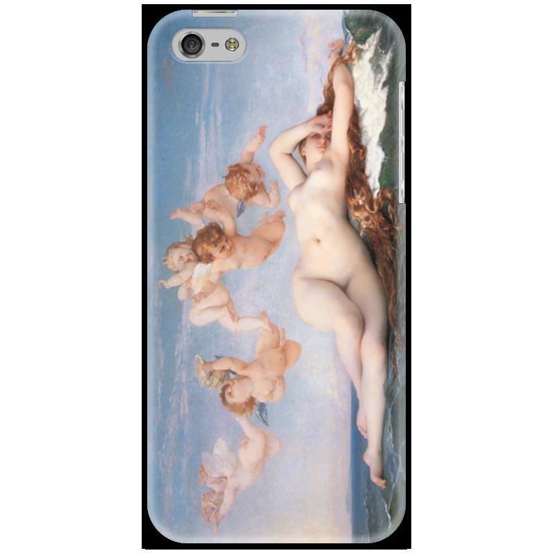 Чехол для iPhone 5 Printio Рождение венеры (картина кабанеля) рождение